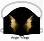 Angel wings facemasks