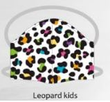 Leopard kids facemasks