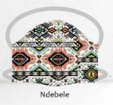 Ndebele facemasks
